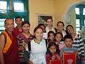 Volunteers with Lha.JPG