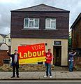 Vote Labour campaigners 8 June 2017 New Barnet 01.jpg