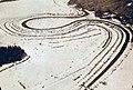 Vue aérienne du Lac Rämen pour le Grand Prix automobile d'hiver de Suède 1932 (gagné par Sven Olaf Bennström sur Ford).jpg