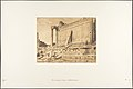 Vue du Temple de Jupiter, à Baâlbek (Héliopolis) MET DP131976.jpg