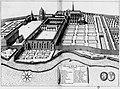 Vue générale de l'abbaye de Coulombs, en 1652.jpg