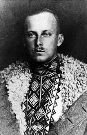 Vyshyvanka - Archduke Wilhelm wearing a Vyshyvanka