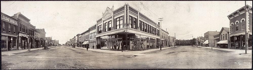 Laramie, 1908
