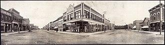 Laramie, Wyoming - Image: WY 1908 St. scene, Laramie