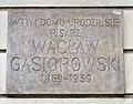 Wacław Gąsiorowski tablica pałac Biskupów Krakowskich.jpg
