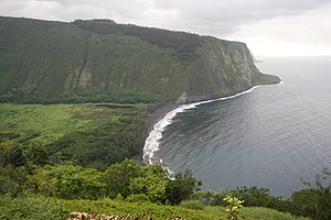 Waipio Valley - Image: Waipio Lookout View