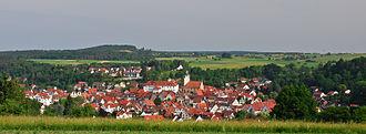 Waldenbuch - Panoramic view over Waldenbuch