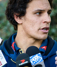 Wallaby Matt Toomua speaks to the media in Sydney 2014 (cropped).jpg