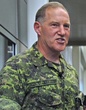 Canada and the Iraq War - General Walter Natynczyk, one of the Canadian officers who served in Iraq, then a Brigadier General