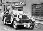 Walter Super 6 (1931) odjezd z továrny.jpg