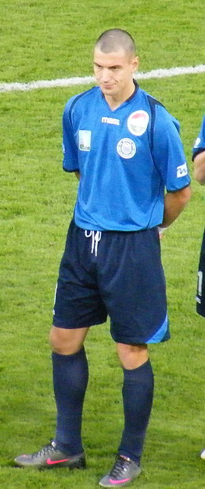 Zalaegerszegi TE - Róbert Waltner scored 92 goals for Zalaegerszeg having become one of the most iconic and prolific figures of the club