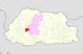 Wangdue Phodrang Gasetshowom Gewog Bhutan location map.png