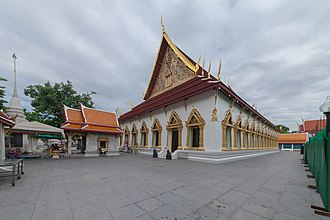 Place of worship - Wat Chana Songkhram is a Wat or Buddhist temple in Bangkok.