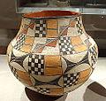 Water pot, Acoma Pueblo, c. 1889-1903, earthenware decorated with slip - De Young Museum - DSC00772.JPG