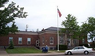Waupaca, Wisconsin - Image: Waupaca Wisconsin Post Office
