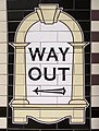 Way Out sign, Arsenal Station, London N4 - geograph.org.uk - 992710.jpg