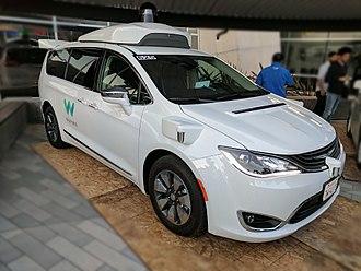 Autonomous car - Waymo Pacifica driverless minivan