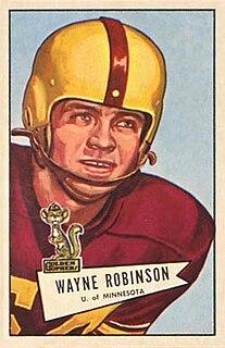 Wayne Robinson American football player