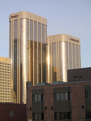 Western Canadian Select - Husky headquarters in Calgary.  Husky has been blending WCS since 2004