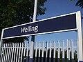 Welling station signage.JPG