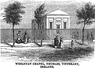 Thurles - Wesleyan Chapel, Thurles, Tipperary, Ireland (p.9, 1849)