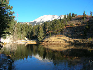 West Spanish Peak - Image: West spanish peak 03