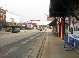 Westby, Wisconsin - Downtown Westby