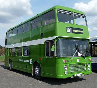 Western National - Preserved Eastern Coach Works bodied Bristol VR in April 2009