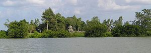 West Mebon - West Mebon from the water