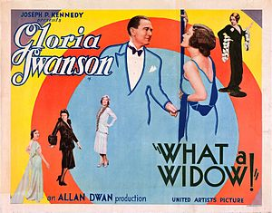 What a Widow! - Film poster