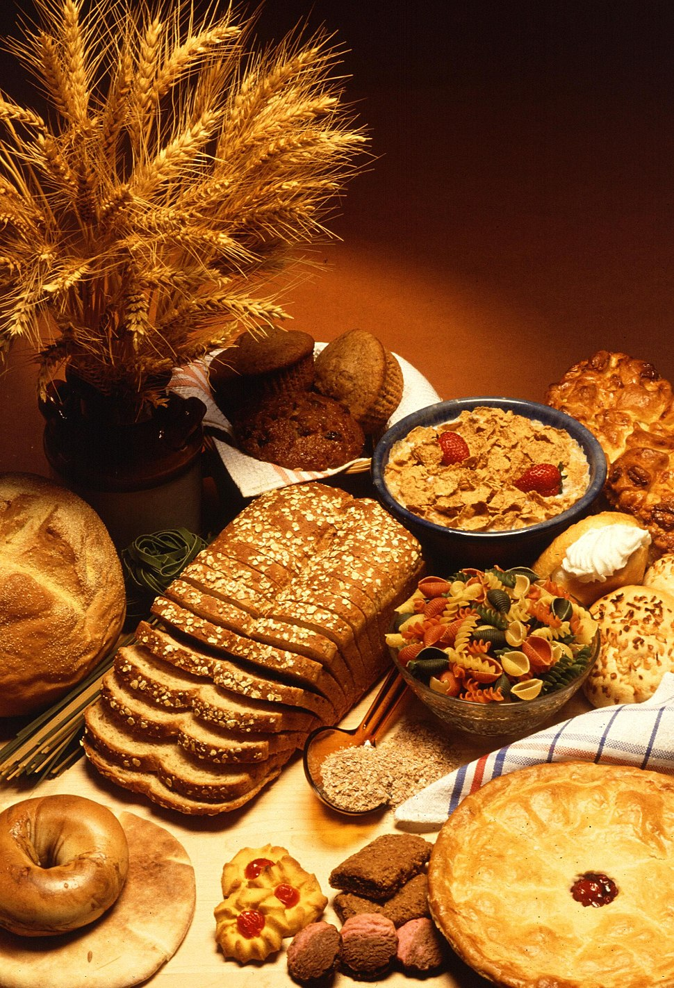 Wheat and wheat based foods