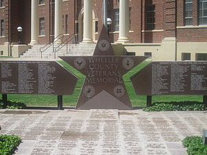 Wheeler County, Texas - Wheeler County Veterans Memorial