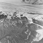 White Glacier, valley glacier terminus in the foreground and icefield in the background, September 17, 1972 (GLACIERS 5970).jpg