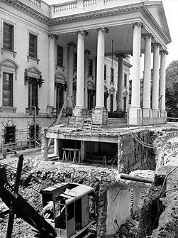 251px White House basement recontruction 1950