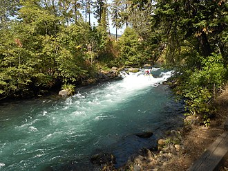 White Salmon River - Image: White Salmon River, WA