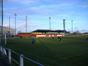 Whitley Bay F.C. - Whitley Bay's home stadium Hillheads Park