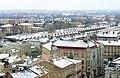 Widok z tarasu wieży Zegarowej w Przemyślu 01 - dworzec Przemyśl Główny.jpg