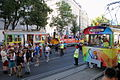 Wien -Regenbogenparade 2012, Demonstrationszug der Wiener Linien.JPG
