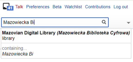 Wikidata Mazovian Digital Library search.png