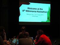 Wikimanía 2015 - Hackaton Day 1 - LMM - México D.F. (8).jpg