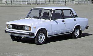 1986-os Lada-2105 Egyiptomban