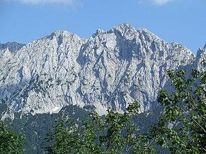 Kaiser Mountains - Image: Wilder kaiser nordwand