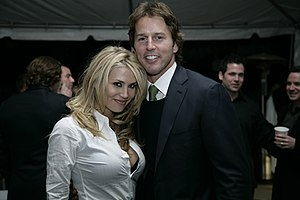 Mike Modano - Modano and Willa Ford, 2007.