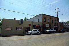 Willamina Oregon downtown Main Street.JPG