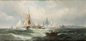 William Anslow Thornley - Off Harwich.jpg