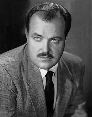 William Conrad - Conrad in 1952, when he created the role of Matt Dillon on the radio version of Gunsmoke