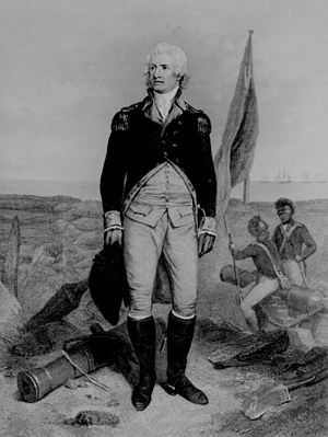 Battle of Sullivan's Island - Colonel William Moultrie