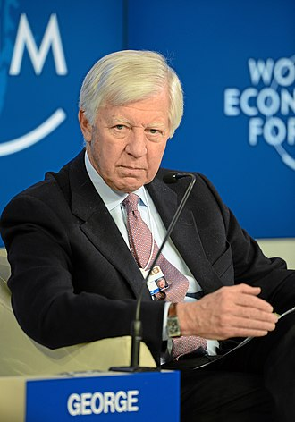 Bill George (academic) - George during the WEF 2013