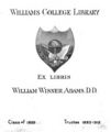 Williams College Adams bookplate.png