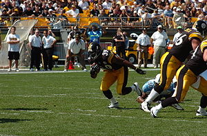 Willie Parker - Parker against the Titans in 2005